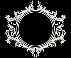 Decorative Frame embroidery design