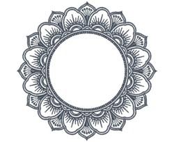MonoMandalas_4 embroidery design