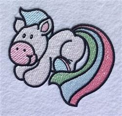 Cartoon Pony embroidery design