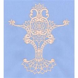 FSL Neckline Centerpiece embroidery design