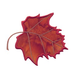 Maple Leaf Applique embroidery design