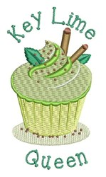 Key Lime Queen embroidery design