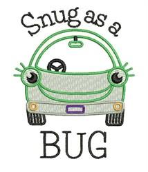 Snug As Bug embroidery design