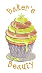 Bakers Beauty embroidery design