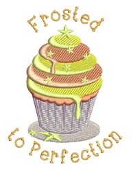 Frosted To Perfection embroidery design