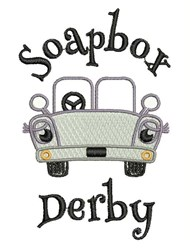 Soapbox Derby embroidery design