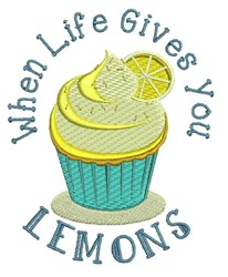 Life Gives You Lemons embroidery design