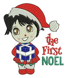 The First Noel embroidery design