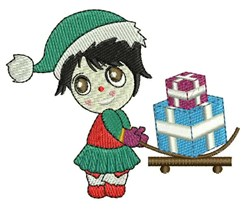 Xmas Gifts embroidery design