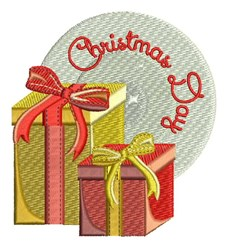 Christmas Day embroidery design