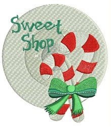 Sweet Shop embroidery design