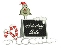 Holiday Sale embroidery design