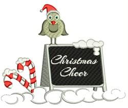 Christmas Cheer embroidery design