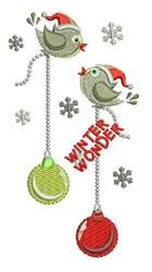 Winter Wonder embroidery design