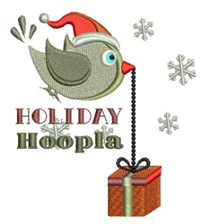 Holiday Hoopla embroidery design