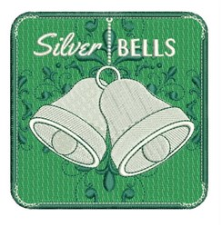 Silver Bells embroidery design