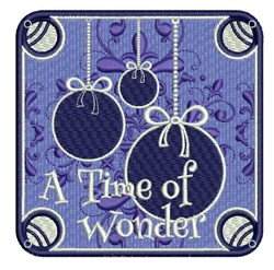 Time Of Wonder embroidery design