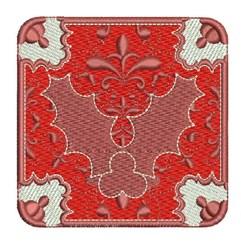 Xmas Square embroidery design