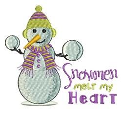 Melt My Heart embroidery design
