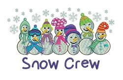 Snow Crew embroidery design
