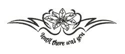 Until There Was You embroidery design