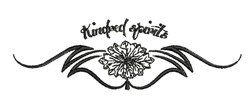 Kindred Spirits embroidery design