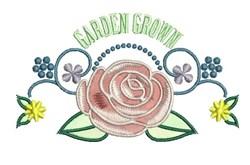Garden Grown embroidery design