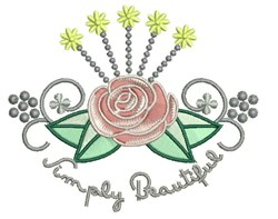 Simply Beautiful embroidery design