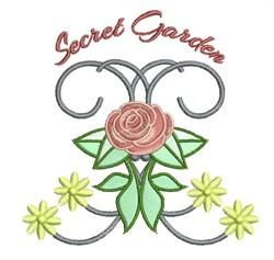 Secret Garden embroidery design
