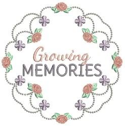 Growing Memories embroidery design