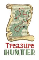 Treasure Hunter embroidery design