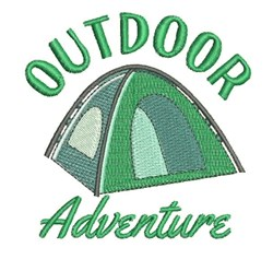 Outdoor Adventure embroidery design
