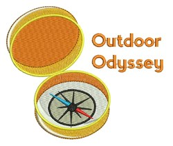 Outdoor Odyssey embroidery design