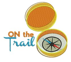 On The Trail embroidery design