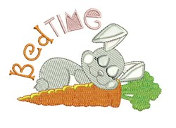 Bed Time embroidery design