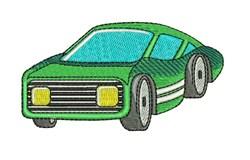 Sport Cart embroidery design