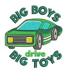 Big Toys embroidery design