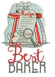 Best Baker embroidery design