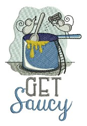 Get Saucy embroidery design