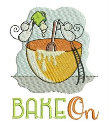 Bake On Mice embroidery design