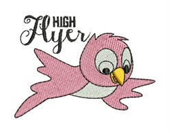 High Flyer embroidery design
