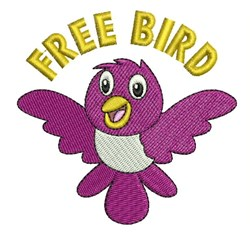 Free Bird embroidery design
