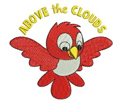 Above The Clouds embroidery design
