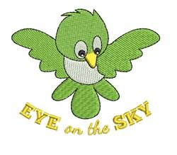 Eye On Sky embroidery design