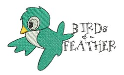 Birds Of A Feather embroidery design