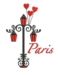 Paris Light embroidery design