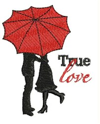 True Love embroidery design