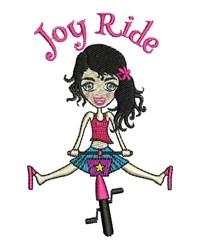 Joy Ride embroidery design
