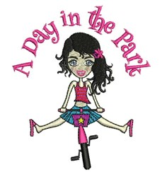 Day In The Park embroidery design