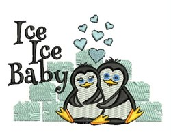 Ice Ice Baby embroidery design